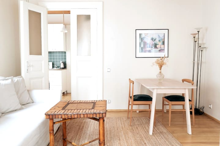 Bright & Airy Historical Apartment in Istanbul