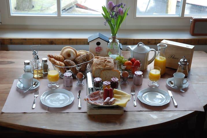 Het ontbijt met voor elk wat wils