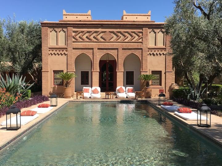 PalaisTafoukt: 2 Riads de luxe et un jardin d'Eden