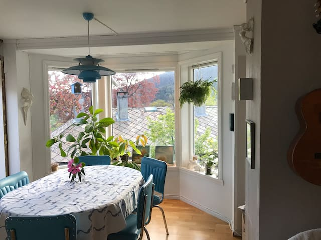 Family friendly appartement 10 minutes from Bergen