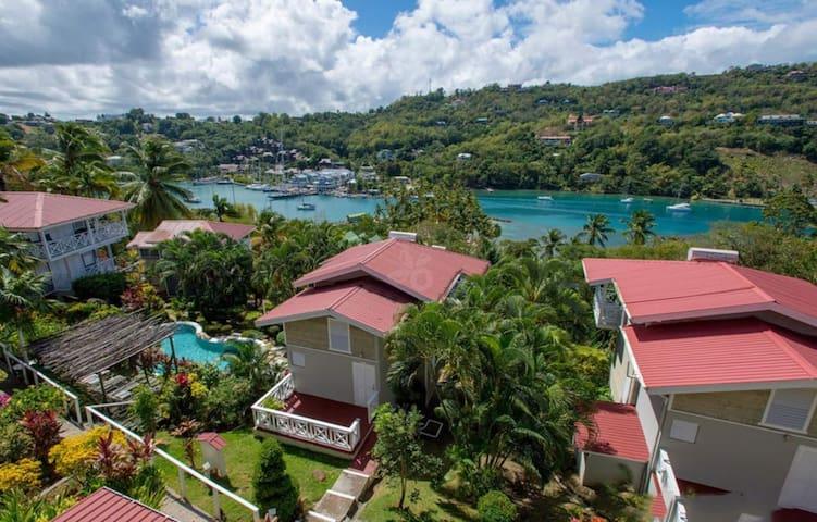 Vacation Club - 2x1 Bed Villas Marigot Bay Views