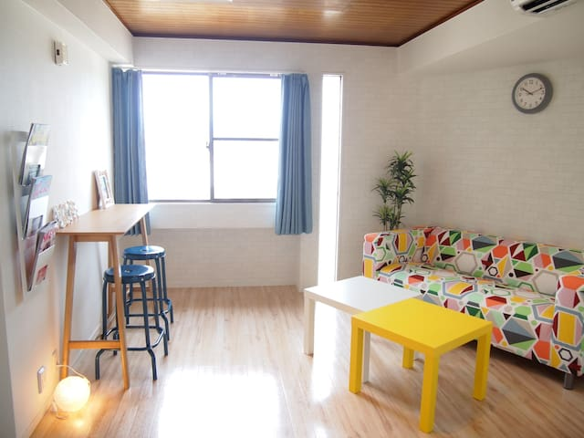 ★New Open★Stylish 2BEDR Apt in Central Kyoto