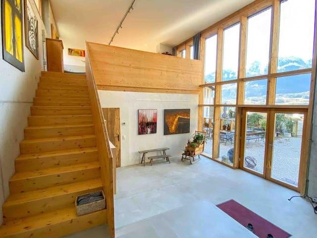 Loft im Kunst-Atelier, Bad Ischl