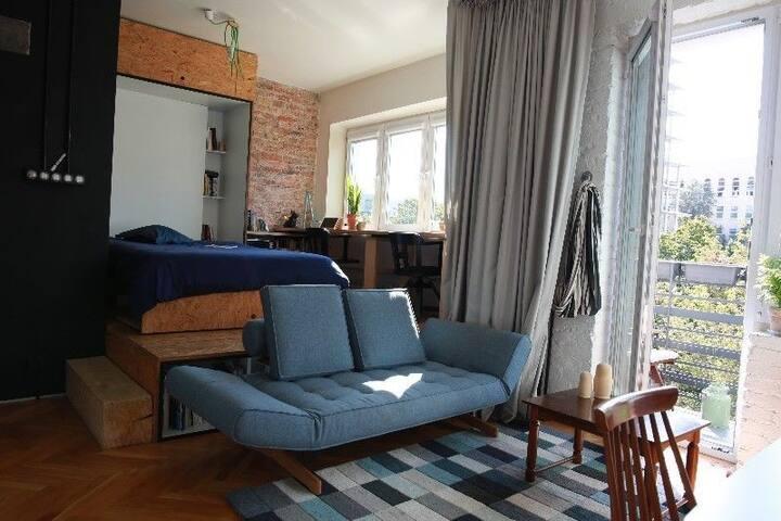 Sypialnia / Sleeping area