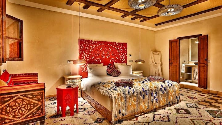 Luxury room in ourika valley