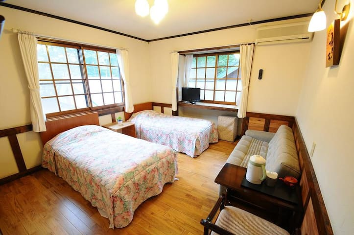 Double-Bed Room - Hakuba - House