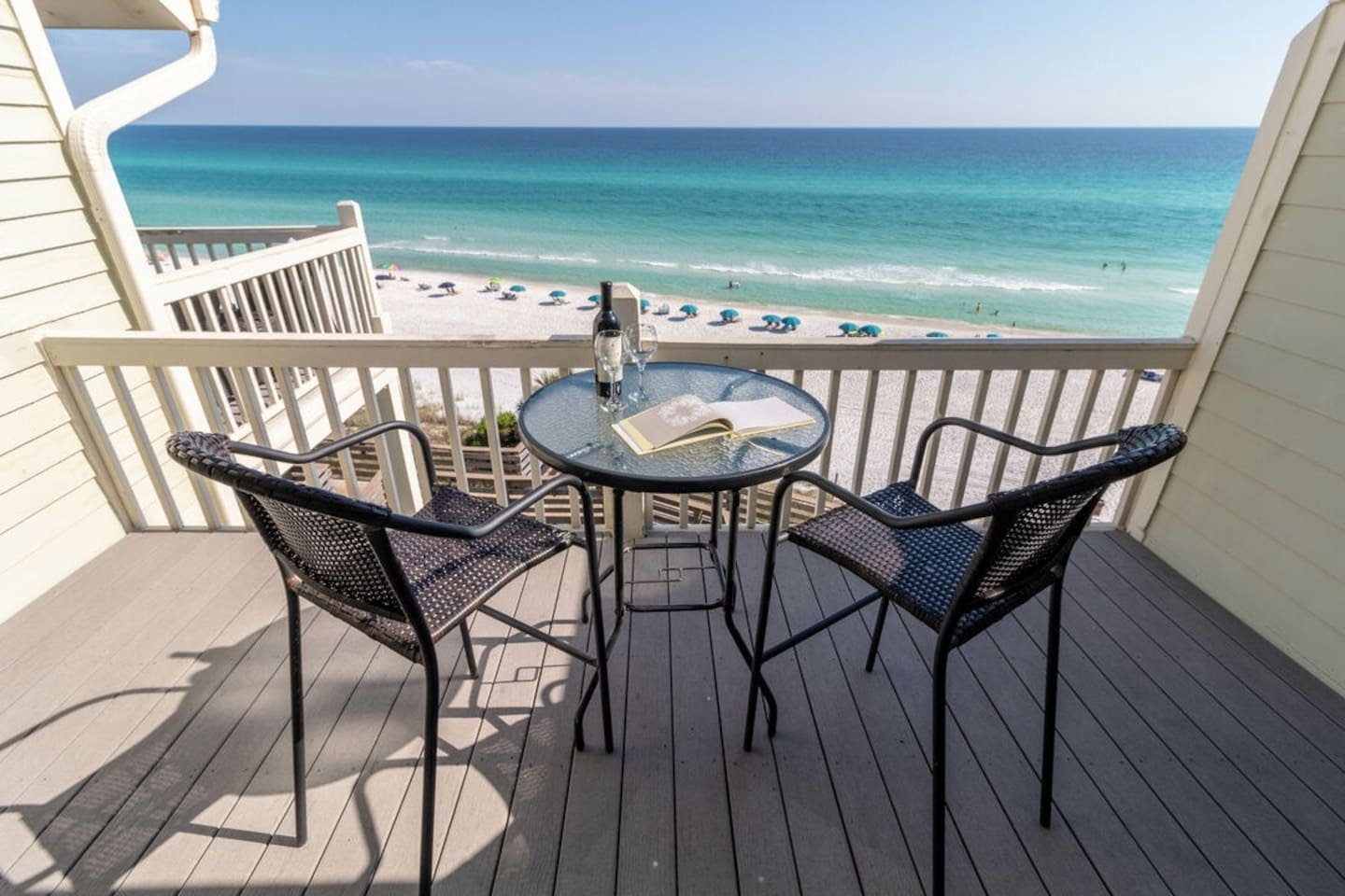 Paradise 30A ~ Mistral 21 ~ Enjoy the amazing balcony views from this top floor condo