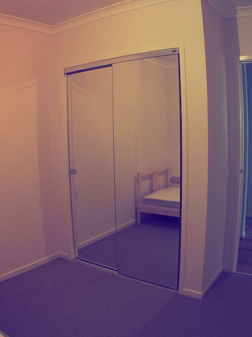 Mirror And Built-In Wardrobe