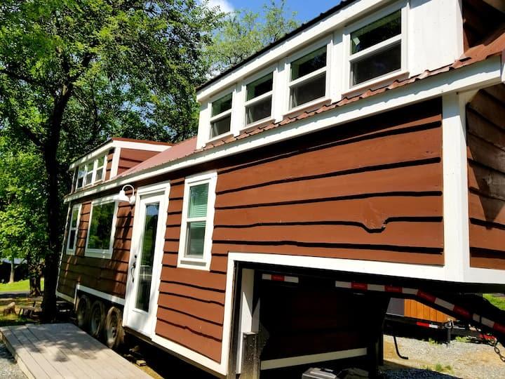 The Be Positive Tiny House at Tiny Estates