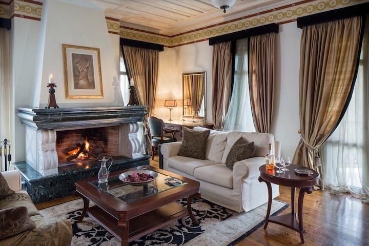 Presidential Suite Archontiko Kaltezioti Hotel