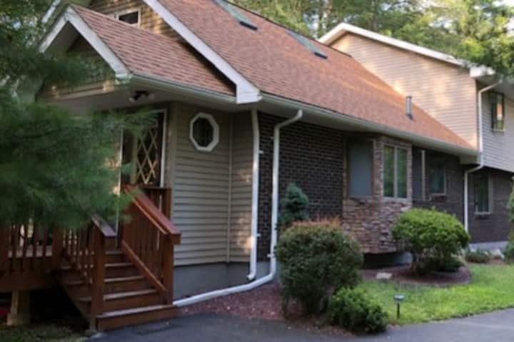 Our cozy home Located in the heart of the Poconos.