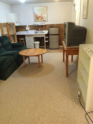 A1 Clean, Cozy,  Studio Basement Apartment - Kitchener - House
