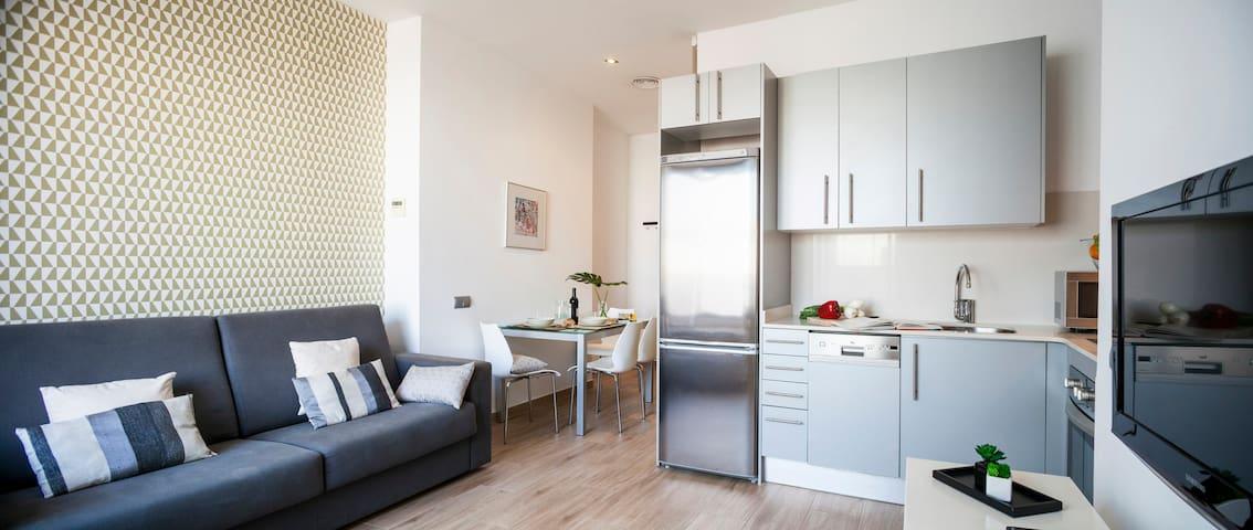 1 Habitación con terraza en Gràcia