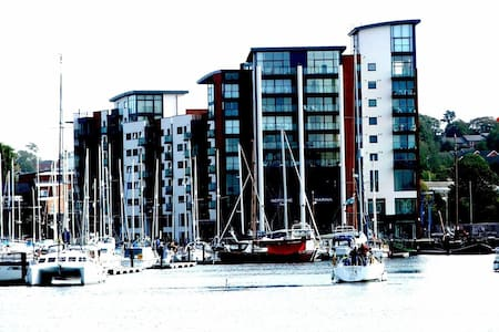 Luxury apartment with riverside views and balcony - Ipswich - Pis