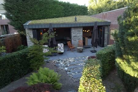 Sfeervol tuinhuis in Plasmolen