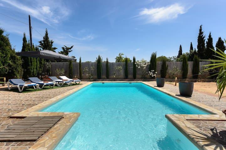La Olivera San Jordi – lovely house best location! - Sant Josep de sa Talaia - Talo