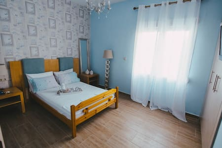 """""""Blue White"""" Family Appartments - Nea Plagia - อพาร์ทเมนท์"""