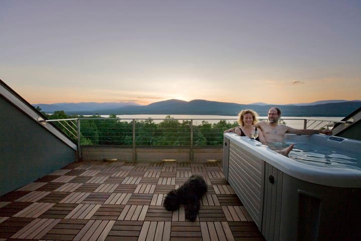 Woodstock NY Home with Views of Ashokan Reservoir