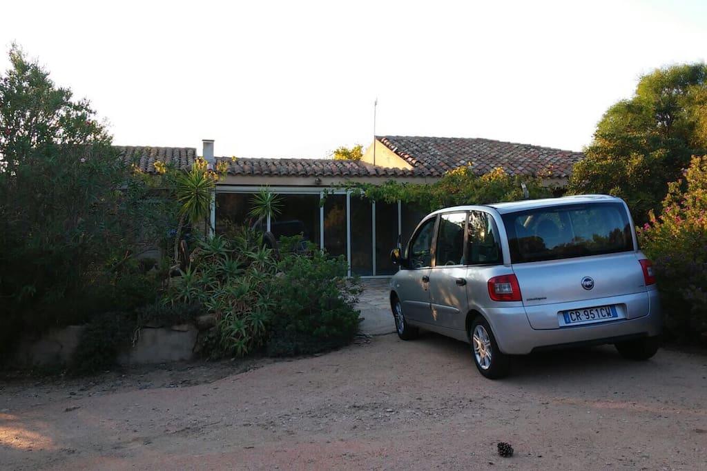 Ingresso in Villa Giovanna