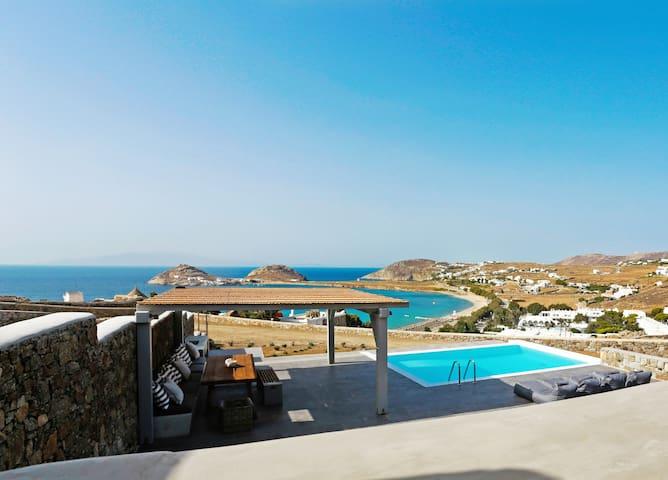 Angelika | New villa | Private pool | Beach at 4'