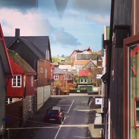 Heima Í Villa Villekulla. - Tórshavn - Apartemen