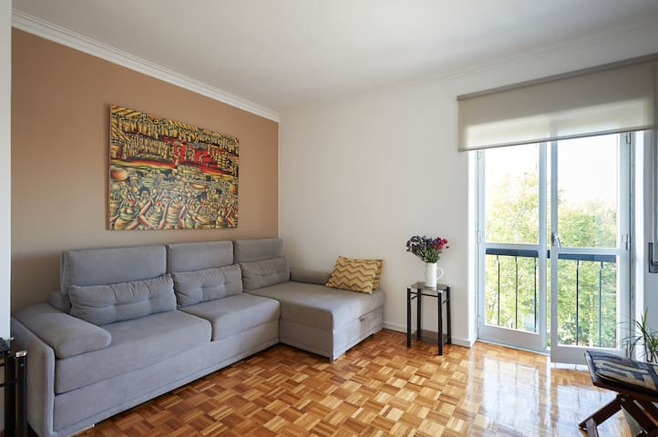 Sunny and Comfortable Flat (entirely renovated)