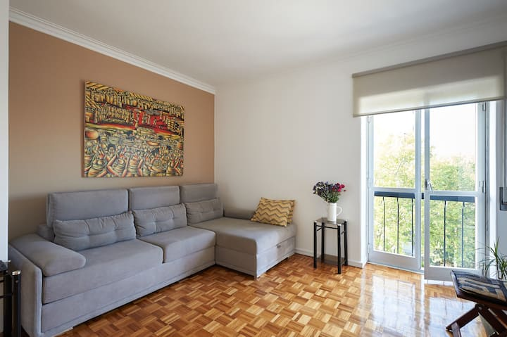 Sunny and Comfortable Flat (renovated)