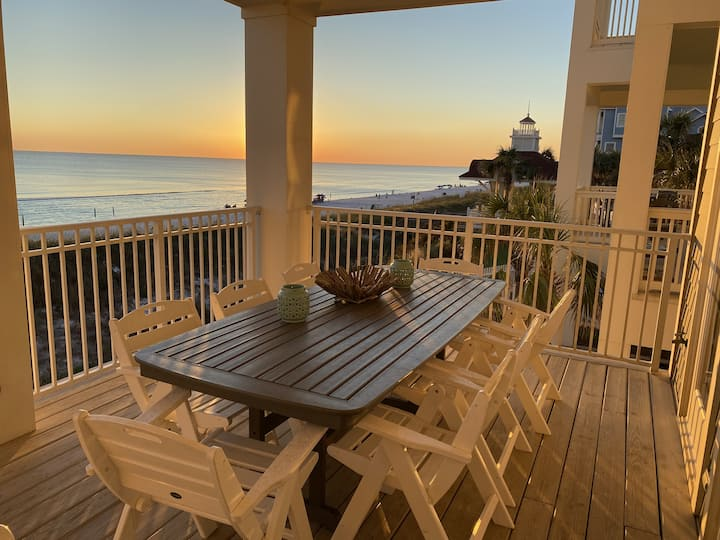 Beach Front Vacation Home - Heated Pool.  Just Added with Thanksgiving Opening