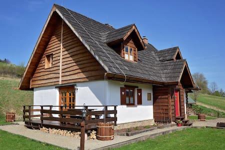 Stylowa Chata w Bieszczadach - Izba - Baligród - Hut