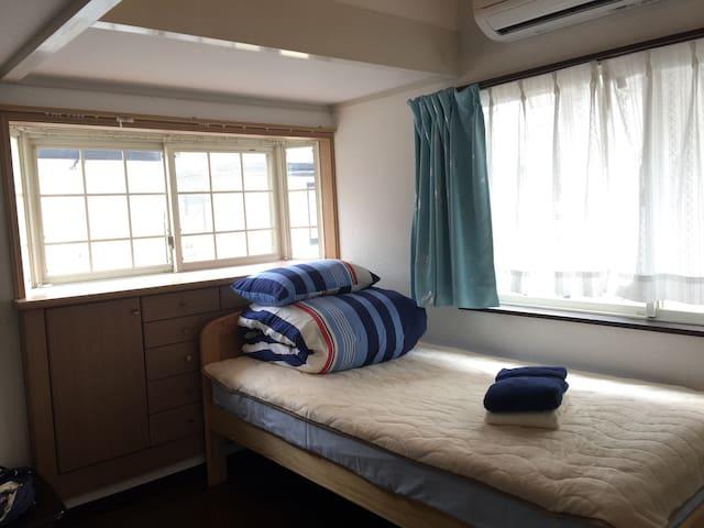 ロフト付き洋室,新宿電車25分,渋谷30分,京王多摩川駅步行5分 - 調布市 - Casa
