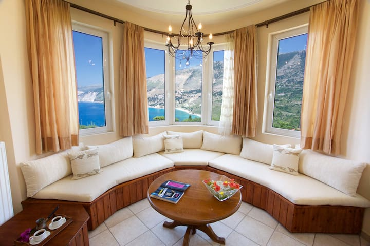 Panoramic Sea View over Myrtos Bay - Villa Teresa