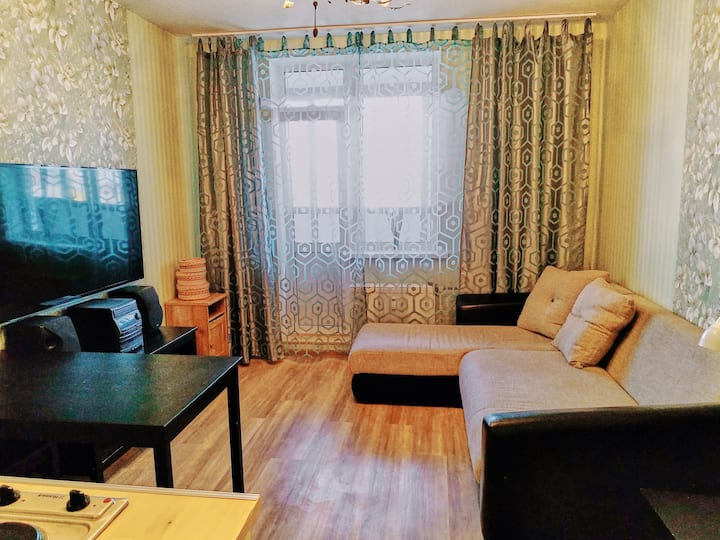 Новая квартира-студия на севере Санкт-Петербурга