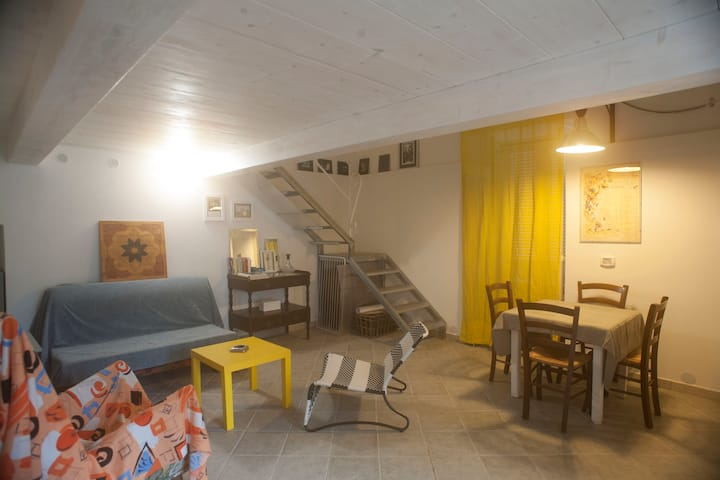 Large&bright loft in the center of Barano d'Ischia