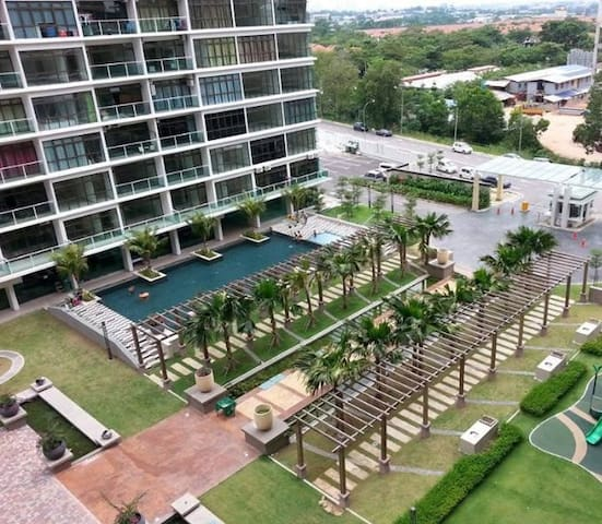 Palazio Studio@ Tebrau Mount Austin - Johor Bahru - Apartament