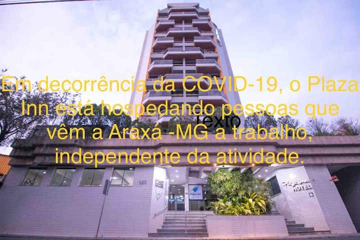 Plaza Inn - Flat 801 - Araxá-MG