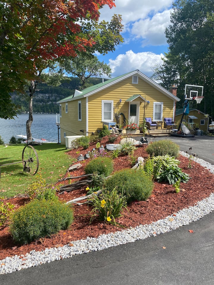 Waterfront Lake House on Crystal Lake in Barton VT