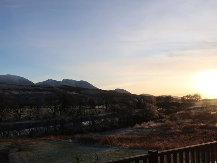 Colonsay,  2 Bedroom Lodge, Mountain Views