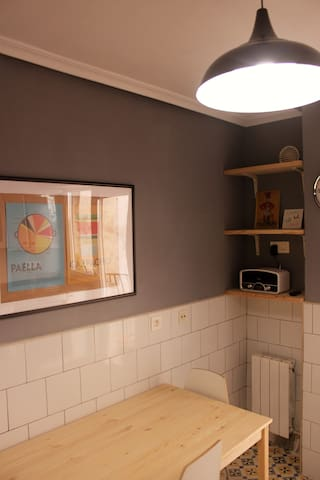Bonito piso recientemente reformado en el centro - León - Osakehuoneisto