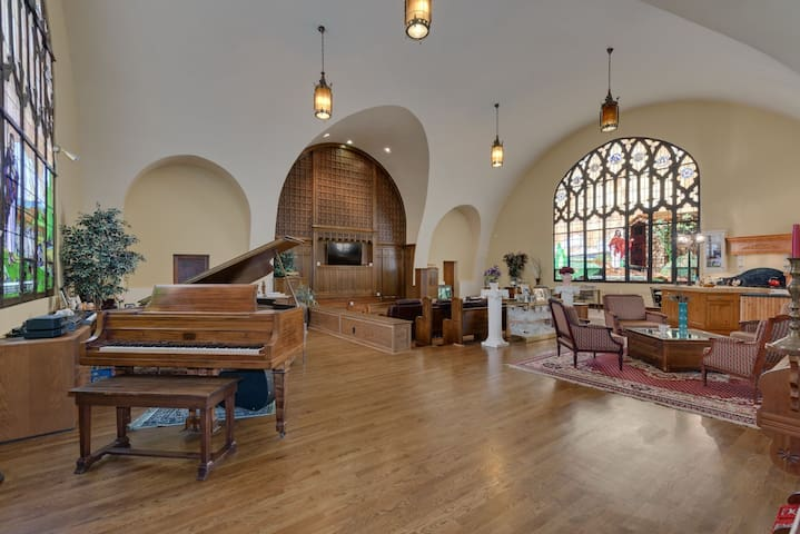 Unique Chicago Area Converted Church Home