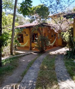 Beautiful place 400m from the beach - Casa