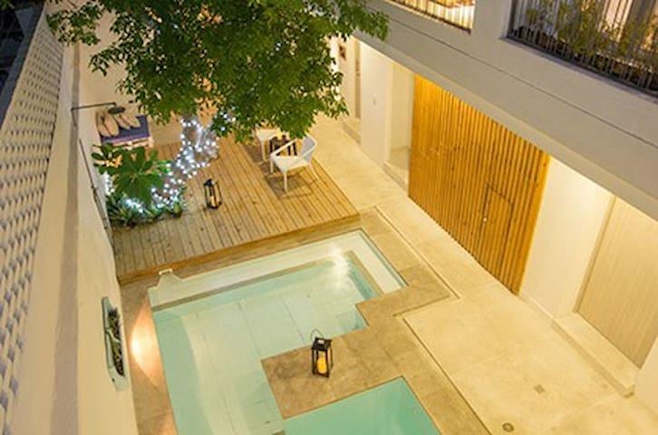 vista desde la terraza de la habitación 6