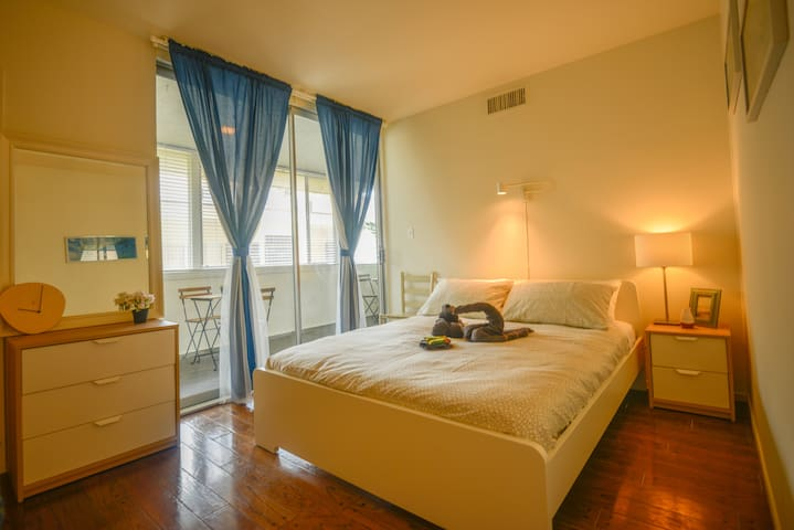E.B1- Private Room w/Shared Balcony offered ATCOST