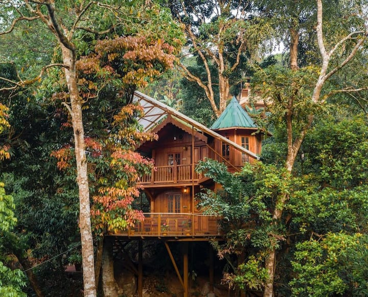 Forestvalley Tree House - Private Room⭐⭐⭐⭐⭐