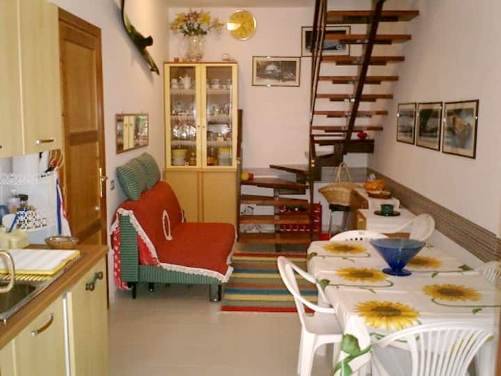 Apartment with 2 bedrooms in Villasimius, with balcony