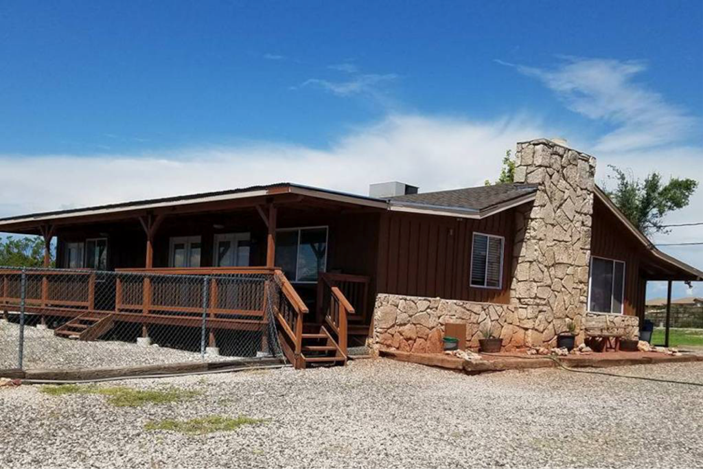 The Ranch House was built in 1962. It is part of the local heritage of the Cottonwood community.