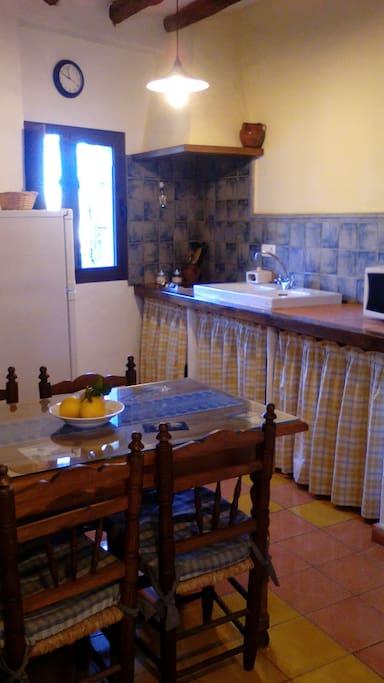 Cocina casa de abajo