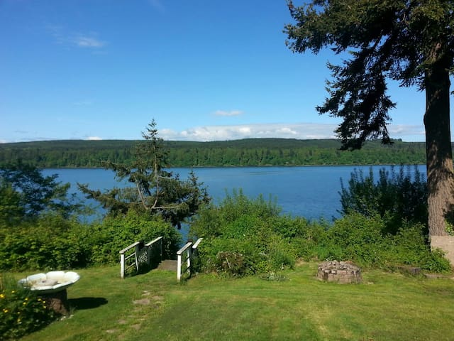 Amazing view of Gamble Bay, Relaxing, fun, private