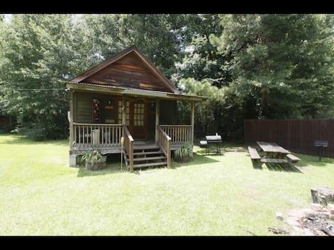 Rustic Backyard Lumberjack Cabin