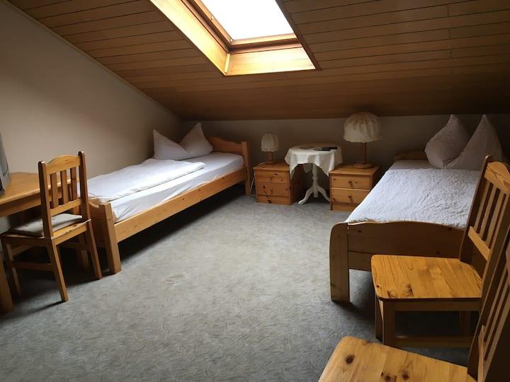 Zimmer in der Pension  9