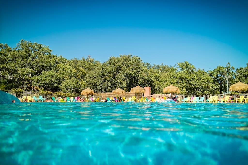 Mobil home 6 pers argel s mer piscine chauff e for Argeles gazost piscine